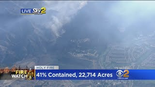 Holy Fire: Voluntary Evacuations Issued In Corona
