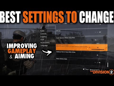 Best Settings To Change In The Division 2 For Console Players | Better Overall Aiming & Gameplay