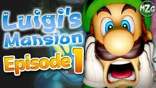 Luigi s Mansion 3DS Gameplay Walkthrough Episode 1 Where is Mario Area 1