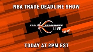 2017 NBA Trade Deadline LIVE SHOW