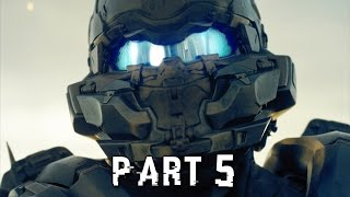 Halo 5 Guardians Walkthrough Gameplay Part 5 - Locke - Campaign Mission 4 (Xbox One)