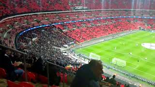 Juventus Tribünü Tottenham Deplasmanında | Juventus Fans in Tottenham