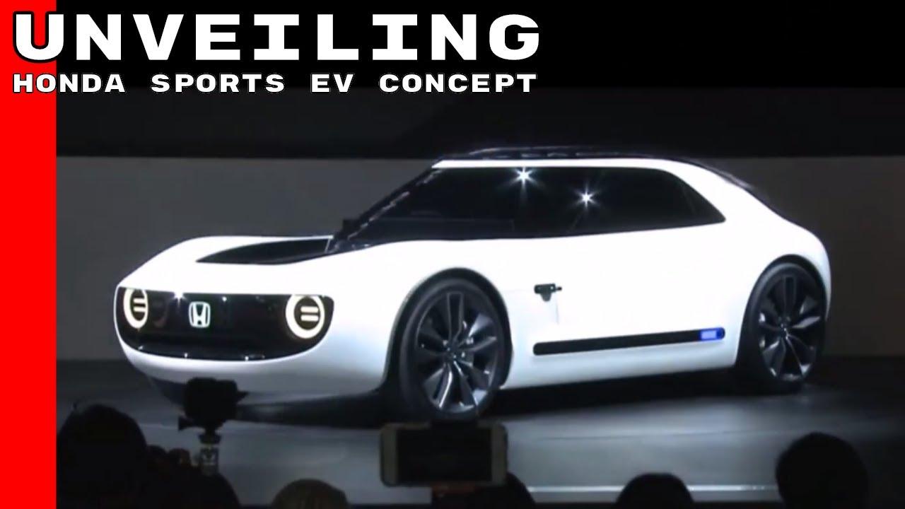 Honda Sports EV Concept  Tokyo Motor Show 2017  YouTube