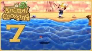 A Viking Fishing for Sharks!! • Animal Crossing: New Leaf - Episode #7