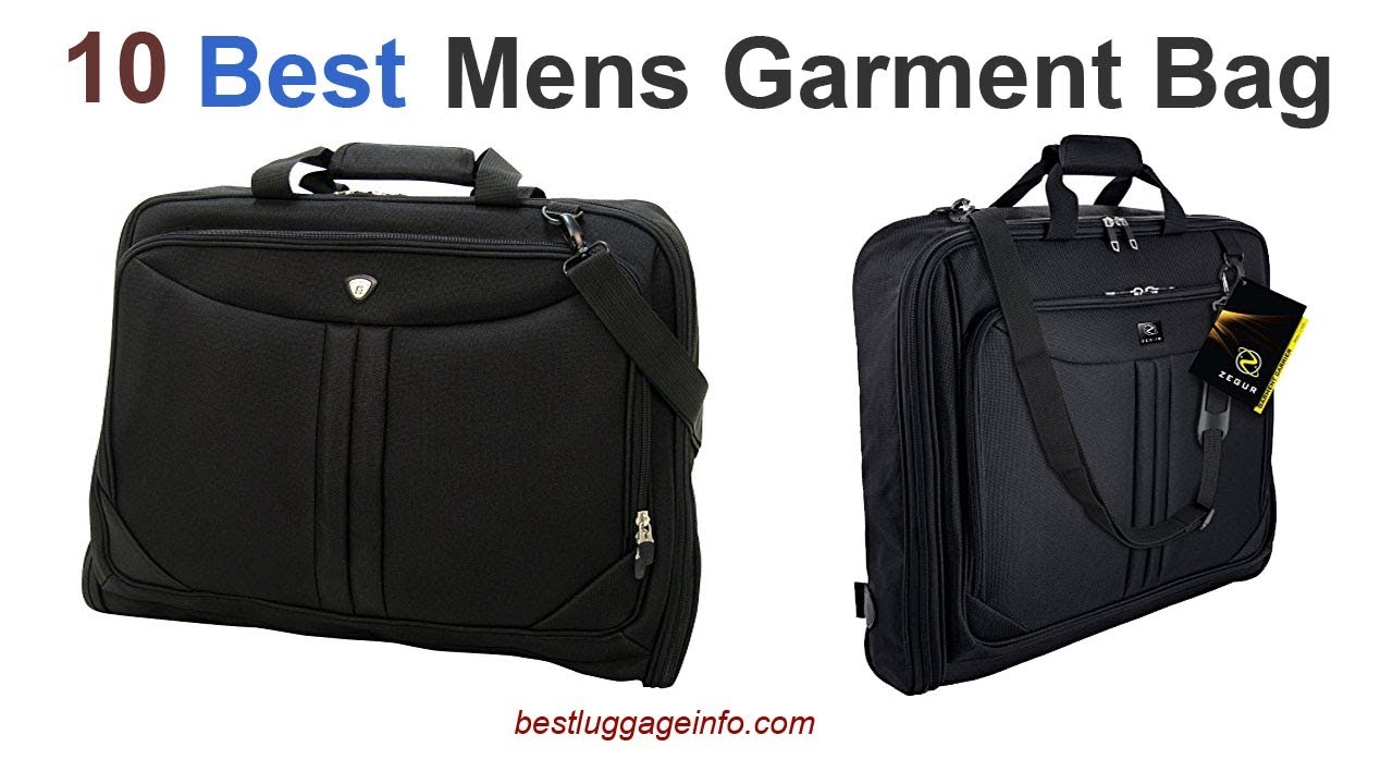 garment_Best Mens Garment Bag | Ten Best Mens Travel Garment Weekender Bag. - YouTube