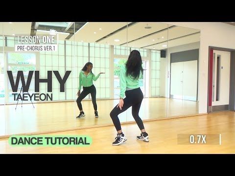 [W/MIRROR] TAEYEON (태연) - WHY | Dance Tutorial