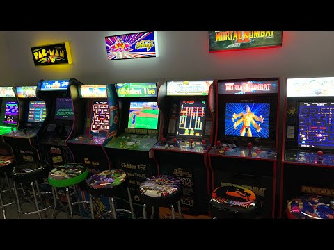 ARCADE1UP AT NIGHT!  RANKING MY TOP 5 ARCADE1UP CABINETS from The 3rd Floor Arcade with Jason