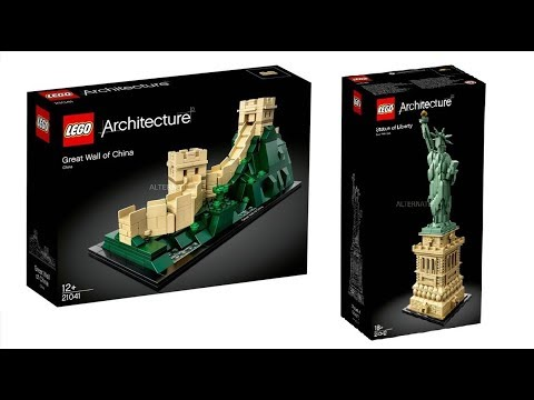 LEGO Architecture summer 2018 sets | Statue of Liberty and Great ...