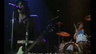 Joan Jett and The Blackhearts - Crimson and Clover - Live - Germany 1982