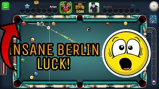 8 Ball Pool - INSANE Berlin Luck - You Can Get 150M/200M Just By DOING THIS!