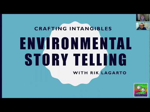 "Rik Lagarto on ""Environmental Storytelling"" for Crafting Intangibles"