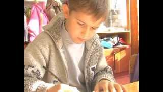 Красноград. Урок рисования в 1 классе