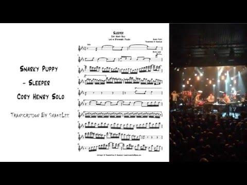 Snarky Puppy - Sleeper (Cory Henry Solo) Transcription by Snake Lee