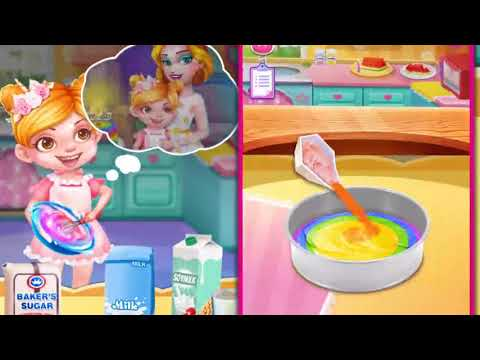 Rainbow unicorn cake maker free cooking games apps on google play solutioingenieria Choice Image