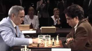 GM Kasparov vs FM Ghannoum, April 2011