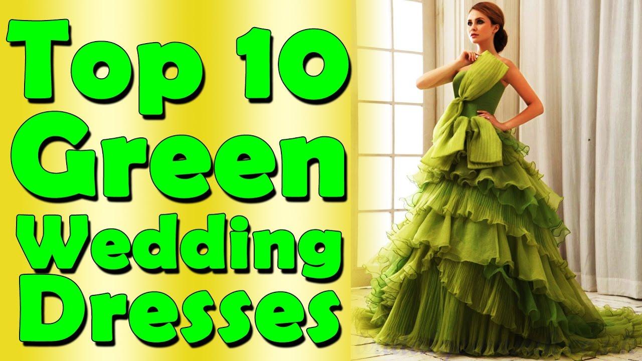 Top 10 green wedding dresses nfx fashion tv youtube top 10 green wedding dresses nfx fashion tv ombrellifo Gallery
