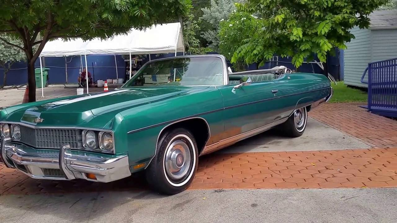 1973 chevrolet caprice classic convertible miami youtube. Black Bedroom Furniture Sets. Home Design Ideas