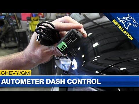 Autometer Dash Control Install: 2007.5-2014 GM 6.6L Duramax