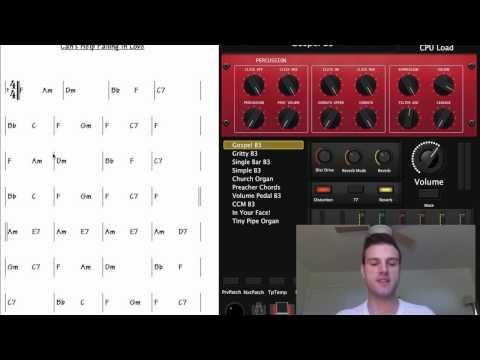How to Use Chord Charts With MainStage