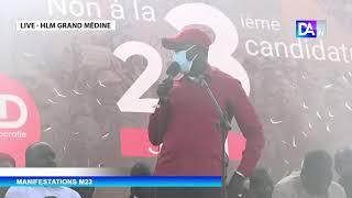 """M 23- Madiop Diop, maire de Grand Yoff: """"il faudra être prêt au combat..."""""""