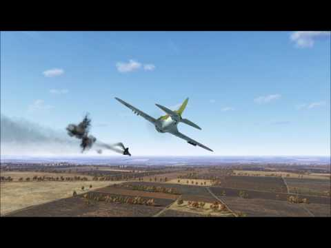 il2 BOS I-16 kill rocket