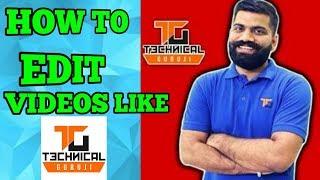 [Hindi/Urdu] How to Edit Videos Like Technical Guruji with Wondershare Filmora
