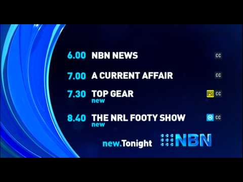 NBN Television - Lineup - (28.5.2015)