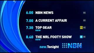 NBN Television - Lineup - (28.5.2015)