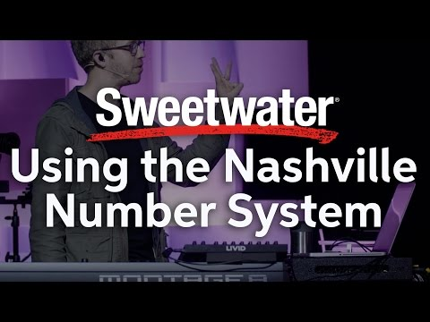 Using the Nashville Number System presented by Jesus Culture