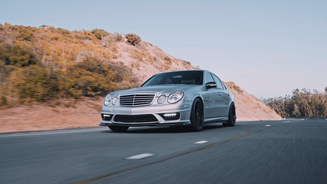 Download Mercedes-Benz E55 AMG W211 Brutal Exhaust 4K