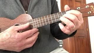 Basic ukulele blues in E, tutorial