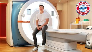 Behind the scenes of Alexander Nübel's medical at FC Bayern