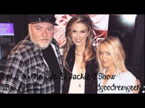Delta Goodrem on the Kyle and Jackie O Show - 23rd July 2015