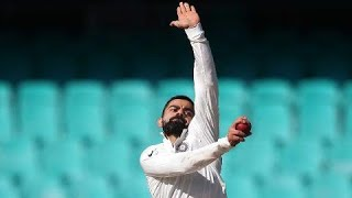 Virat Bowli! India skipper sends down some seamers