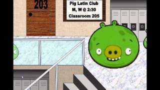 Angry Birds Animation Back to school (Loquendo)