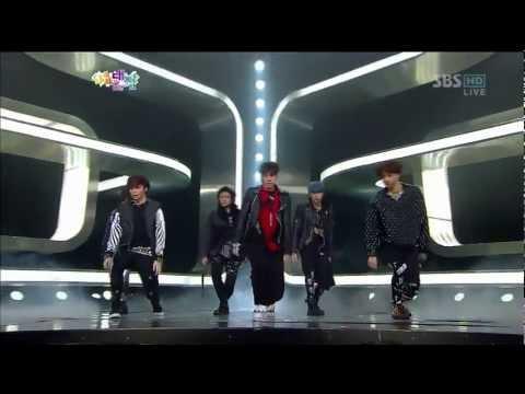 U-know / Taemin / Eunhyuk / Donghae / Minho 외  [Spectrum] @SBS gayodaejun 20121229
