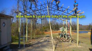 Armour Metals Steel Truss Pole Barn Kit Diy