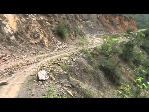 A caminho de Machu Picchu - Dangerous Road