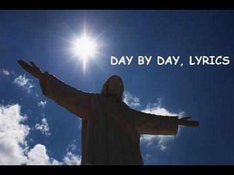 Day by Day Hymn, Onscreen Lyrics (HD)