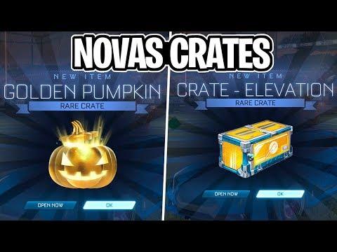 NOVOS VAZAMENTOS! GOLDEN PUMPKIN, EVENTO E NOVA CAIXA ELEVATION! - Rocket League thumbnail