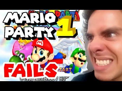Mario Party 1 - Fails