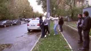 СтопХам   !!!ШОК!!! Девушка кикбоксер надавала люлей СтопХам!
