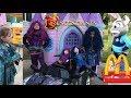 Disney Princess Party Frozen Sleigh RideOn Descendants 2