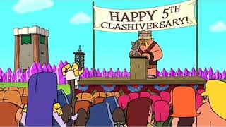 Clash-a-rama new episode,5th anniversary of clash of clans.
