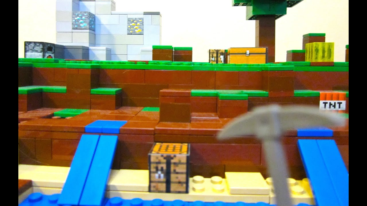 LEGO Minecraft World YouTube - Minecraft spielen lego