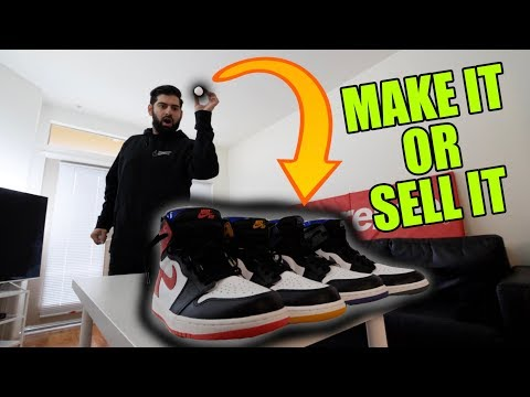 $2,000 SNEAKER-PONG GAME!! *MAKE IT OR SELL IT*