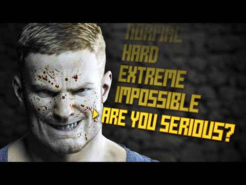 10 Video Game Difficulty Levels For The Criminally Insane