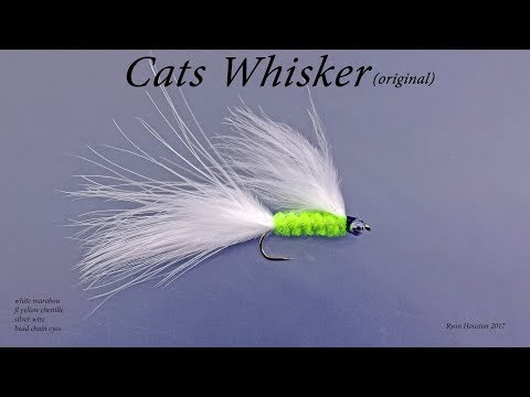 TYING THE CATS WHISKER ORIGINAL WITH RYAN HOUSTON 2017