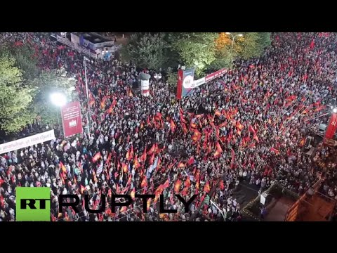 Greece: Thousands attend Communist party pre-election rally at Syntagma Square