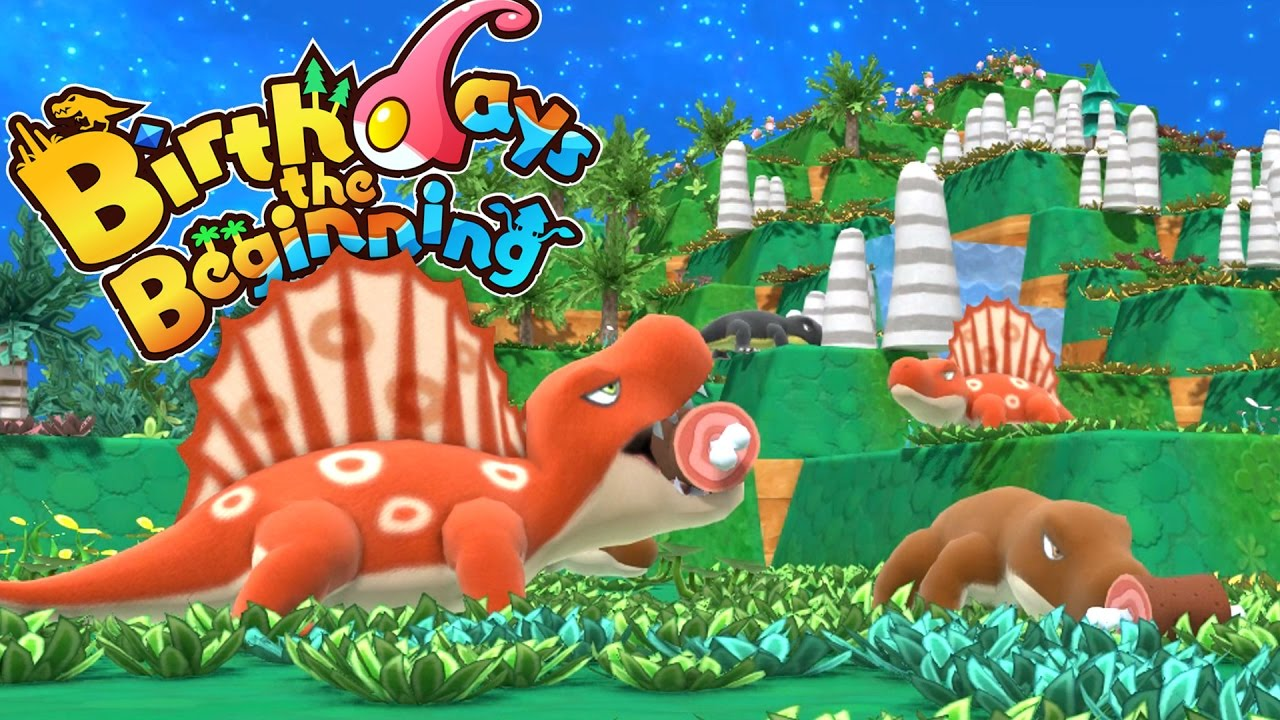 birthdays the beginning our first dinosaurs let u0027s play